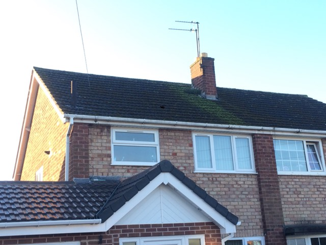 Roof Pressure Washing in Newport, Shropshire
