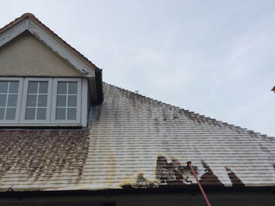 Roof Cleaning in Lichfield