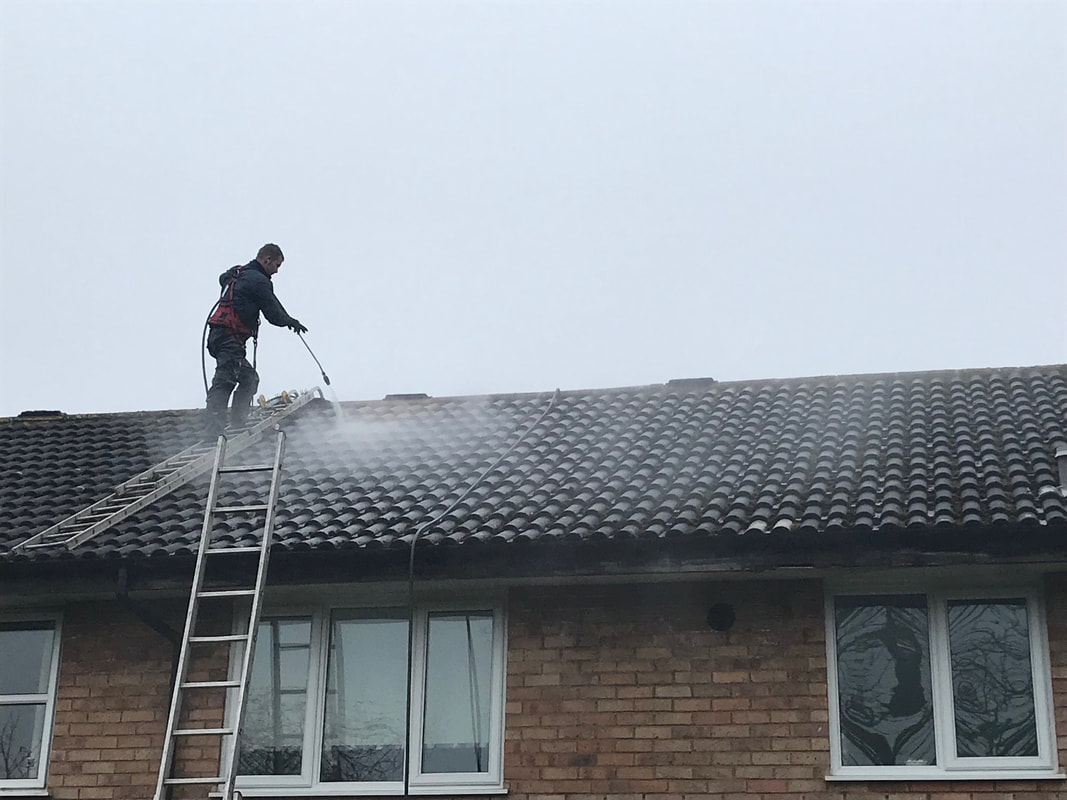 Bright Roof Pressure Wash Roof Cleaning