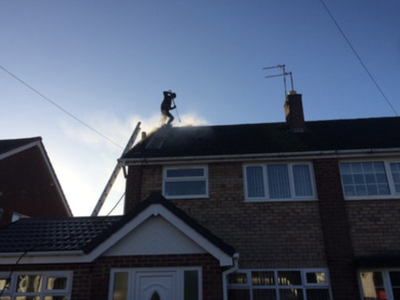Pressure washing in Lichfield