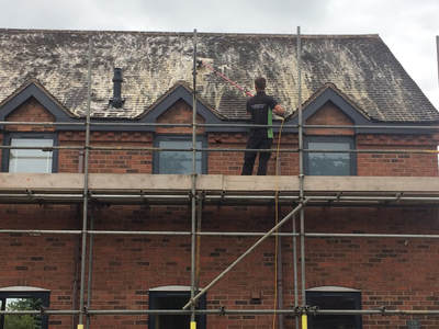 Lichfield Roof Cleaning