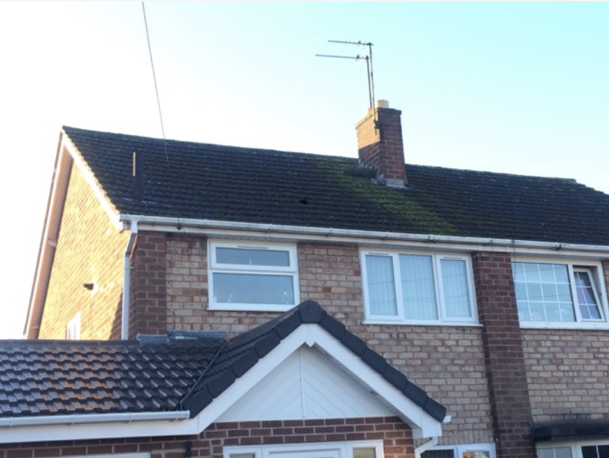 Roof Cleaning Lichfield, Staffordshire
